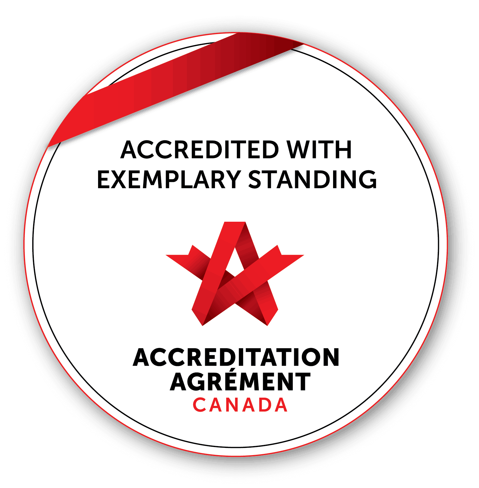 Accreditation with Exemplary Standing
