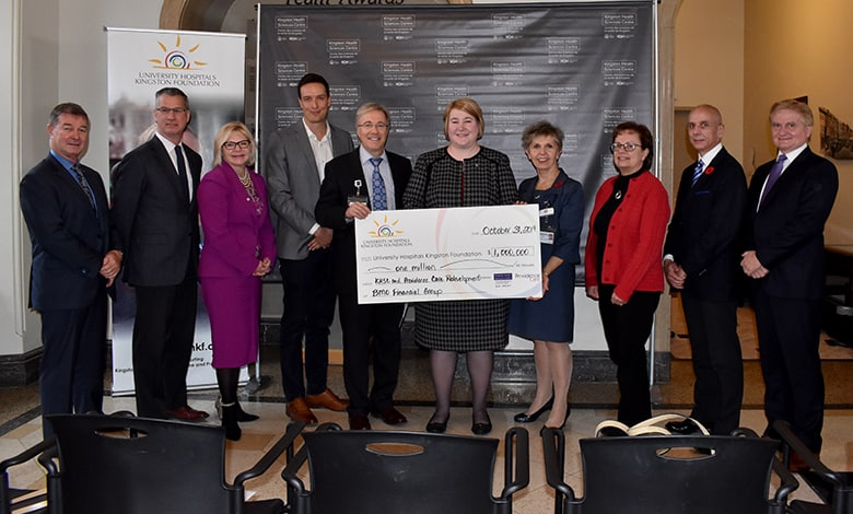 BMO Financial Group Pledges $1 Million for Local Health Care Redevelopment